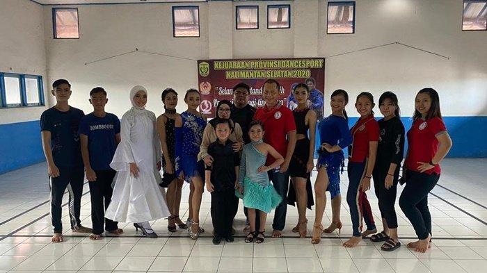 Dancesport Banjarmasin Juara Umum Kejurprov, Radhika Dhafi Pratama Sumbang 2 Emas