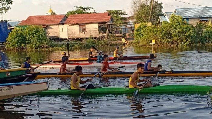 Mantapkan Persiapan Popda Kalsel 2021, Tim Dayung Tanahlaut Try-Out ke Banjarmasin