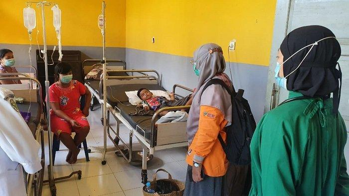 Datangi Desa Lamunti, Dinkes Kapuas Sebut Diduga Keracunan dari Makanan Buka Bersama