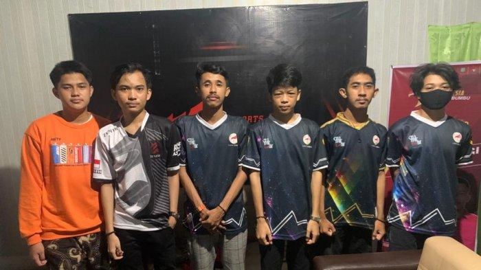 Tim Tanahbumbu Optimis Taklukkan Banjarmasin di Final Game Mobile Legends Kejurprov ESI Kalsel 2021