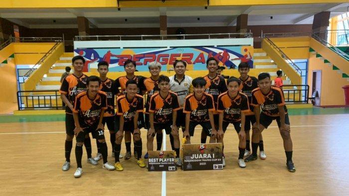 Baru Dibentuk, Tim Futsal Hanoy Banjarmasin Mulai Unjuk Gigi