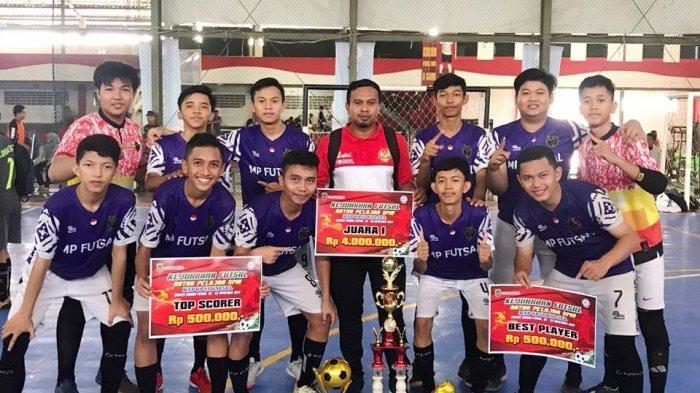 MAN 1 Juara Futsal, Iqbal dan Ridho Pemain Terbaik Dan Top Score