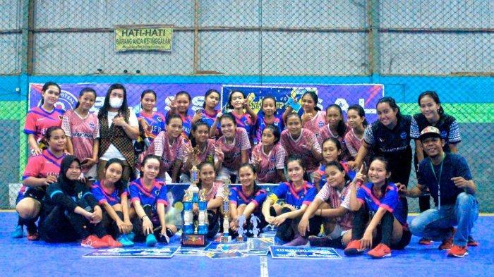 KaltengPedia - Profil Tim Futsal Putri Female FC Barito Timur Kalteng