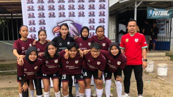 Takluk Atas Female FC, Futsal Putri Seporta Family Raih Peringkat Kedua di Sulung Bless Fourfeo