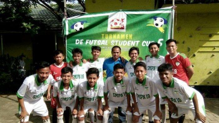 Tim Futsal SMPN 19 Banjarmasin Siap Berlaga di Street Soccer 2018