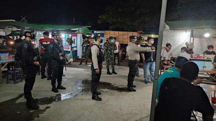 Usaha Kuliner di Sampit Kotim Belum Tertib Aturan, Tim Gabungan Gelar Operasi Yustisi