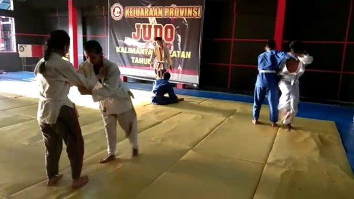 Tim Judo Kota Banjarmasin Targetkan Tiga Medali Emas di Ajang Popda Kalsel 2021