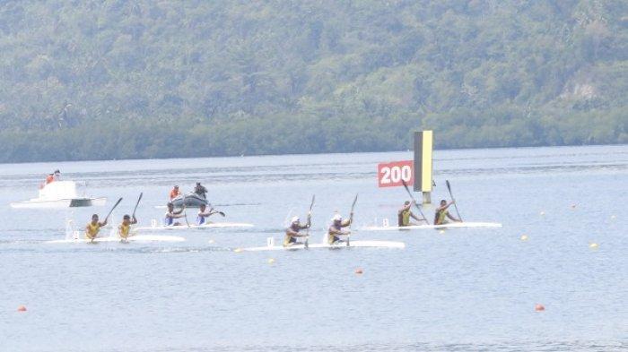 Takluk di Final, Tim Dayung Kalsel Gagal Memenuhi Target Medali di Nomor Kayak 2 Putra 1000 meter