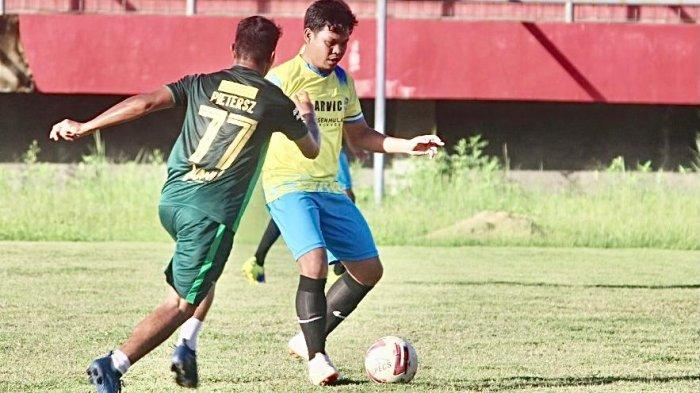 Pelaksanaan Porwanas Batal Tahun 2021, Atlet Siwo Kalteng Tetap Giat Latihan Sepak Bola