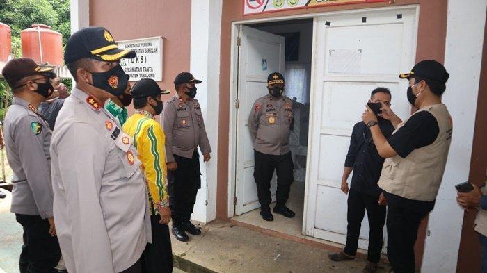 Pantau Pengamanan Pilgub Kalsel di Tabalong, Tim Mabes Polri Datangi PPK Tiga Kecamatan