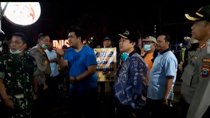 Pemko, TNI dan Polri Gelar Patroli Gabungan, Tekan Potensi Penyebaran Covid-19 di Banjarmasin
