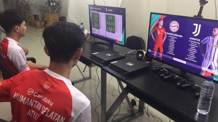 Menang Dramatis di Derby Kalimantan, Tim PES ESI Kalsel Pastikan Tempat di Eksebisi PON Papua 2021