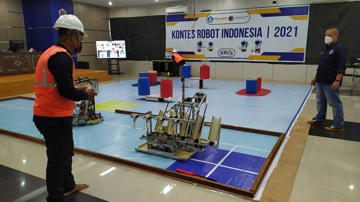 Jadi Peserta KRI 2021, Tim Robotik Poliban Ikuti Kontes Empat Tema Robot