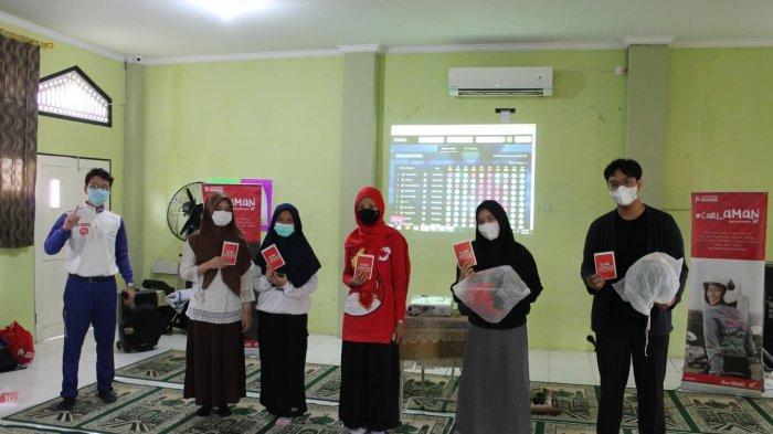 SMA Islam Sabilal Muhtadin Banjarmasin Kompak Dukung Keselamatan Berkendara