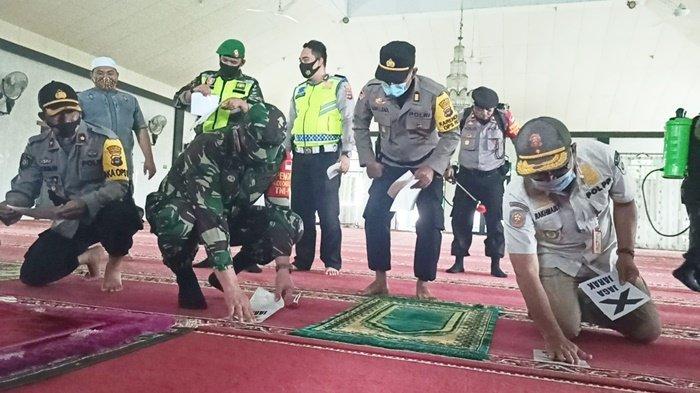 Wisata Kalsel, Pengelola Masjid Yampi Kabupaten Balangan Terapkan Prokes