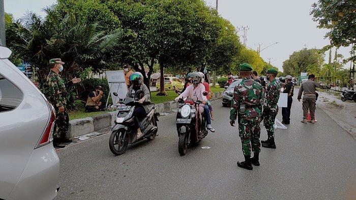 Terjaring Operasi Yustisi, Pelanggar Prokes di Pinggiran Palangkaraya Wajib Tes Swab Antigen