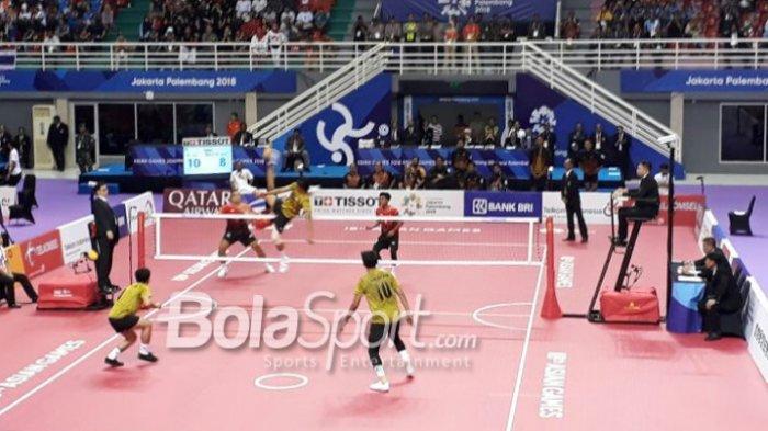 Update Klasemen & Perolehan Medali Asian Games 2018, Emas ke 31 Indonesia Dari Sepak Takraw