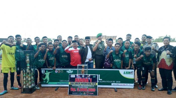 Jawara LSN 2018 Zona Kalsel, Pelatih Tim Ponpes Al-Falah Evaluasi Fisik dan Teknik Pemain