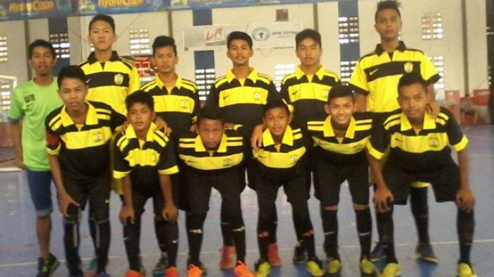 SMPN 9 Banjarmasin Kampium Futsa Garuda Cup 2016