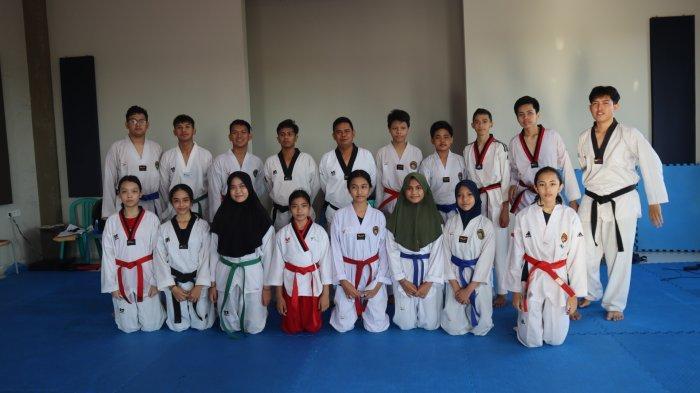 Hadapi Popda Kalsel 2021, Tim Taekwondo Banjarmasin Siapkan 18 Atlet