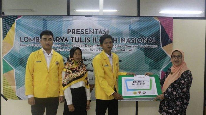 Mahasiswa Fakultas Teknik ULM Ini Juara Satu Nasional LKTI UPN Veteran Yogyakarta