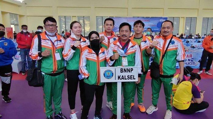 Petenis Meja Kalsel Masuk 16 Besar pada Event BNN Smash In Drugs di Lido Jawa Barat