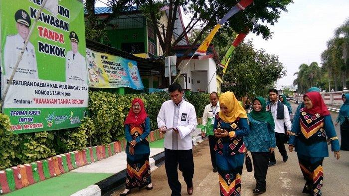 SDN Murung Sari 1 Wakili Kalsel Lomba Sekolah Sehat Tingkat Nasional