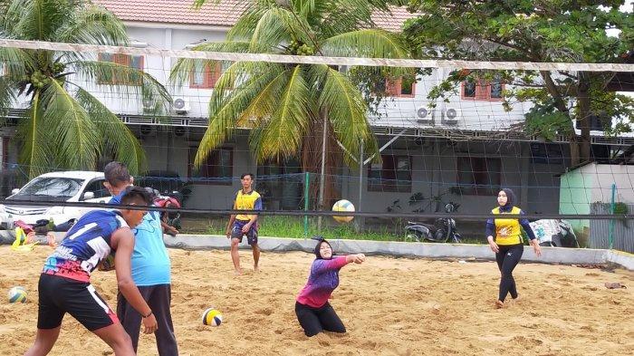 Tim Voli Pasir Kalsel Targetkan Empat Besar di Popnas, Latihan Terus Digenjot