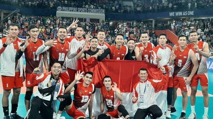 Alasan Pebola Voli Putra Indonesia Lakukan Selebrasi Kontroversi Setelah Rebut Emas SEA Games 2019