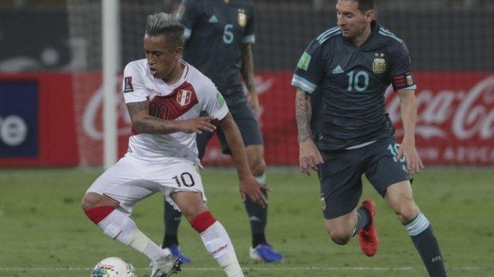 KUTUKAN Messi Tak Mau Hilang, Albiceleste Menang 2-0 di Laga Peru Vs Argentina
