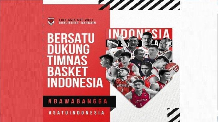 Indonesia vs Thailand - Live Streaming FIBA Asia Cup 2021 Qualifiers, Timnas Basket Indonesia Main
