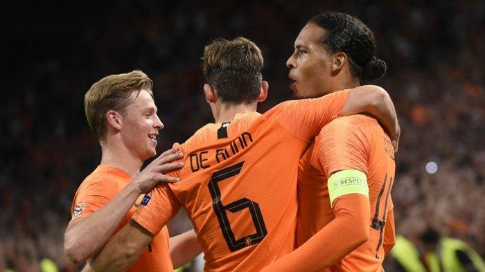 LIVE Streaming Mola TV Belarusia vs Belanda di TV Online Kualifikasi Euro 2020 Mulai Jam 23.00 Wib