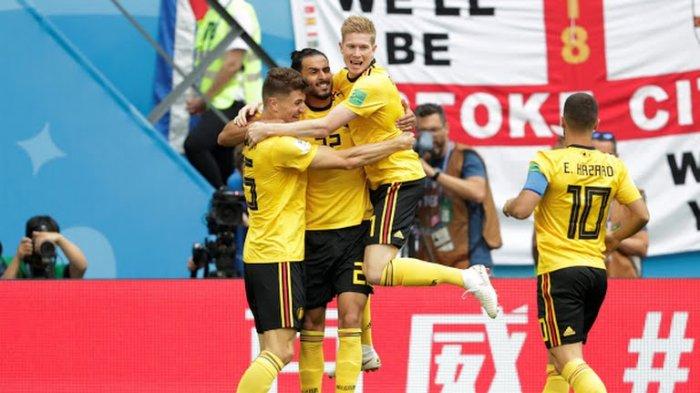 Hasil UEFA Nations League - Belgia Tumbangkan Swiss,  Lukaku Cetak Dua Gol Skor Akhir 2-1