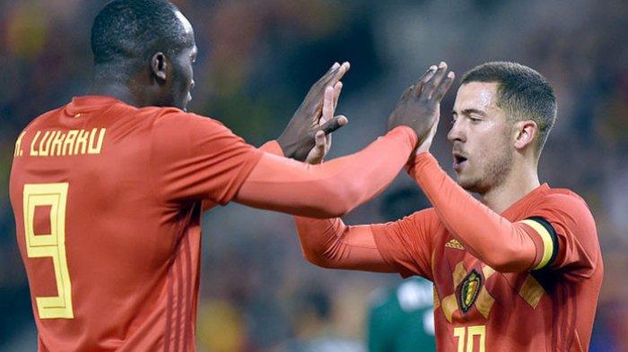 Susunan Pemain & Link Streaming Belgia vs Kroasia Ujicoba Jelang EURO 2020, Lukaku & Ante Rebic Main