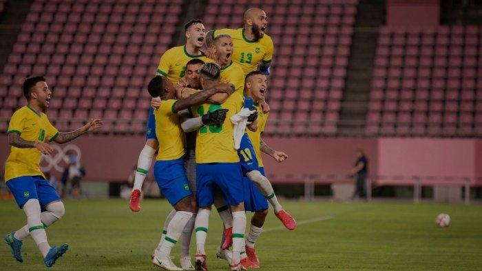 Brazil Juara Lagi! Hasil Brasil vs Spanyol Final Olimpiade Tokyo 2021, Malcolm Jadi Pahlawan