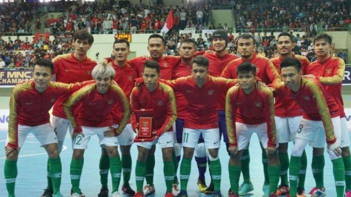 Klasemen Kualifikasi Piala AFC U-20 Futsal 2018 Jelang Live Streaming MNC TV Indonesia vs Myanmar