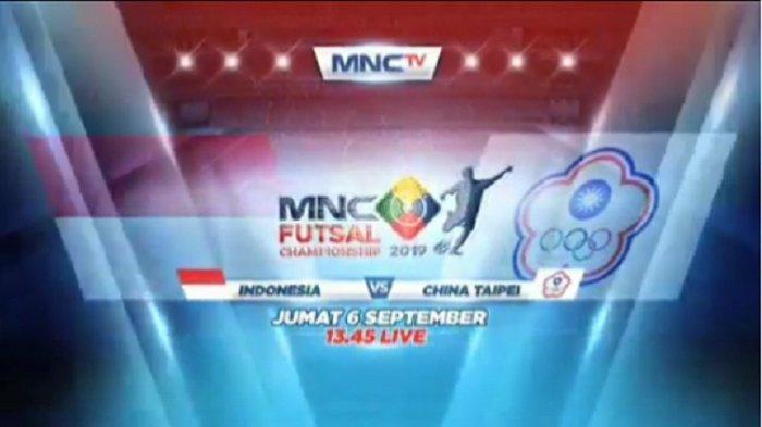Live Streaming MNC TV (RCTI +) Timnas Futsal Indonesia vs Uzbekistan MNC Futsal Championship