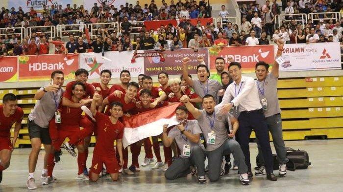 LINK MNC TV Timnas Futsal Indonesia vs Thailand Final Piala AFF 2019 Cek Metube.id, Laga Klasik!
