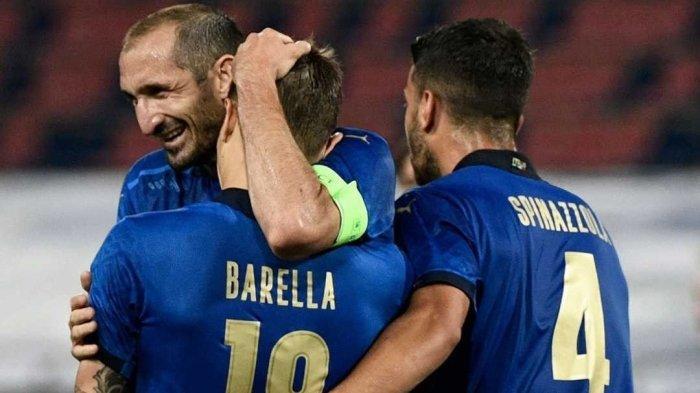 Susunan Pemain Italia vs Swiss Laga Grup A EURO 2021 Kamis (17/6), Duet 2 Striker Maut