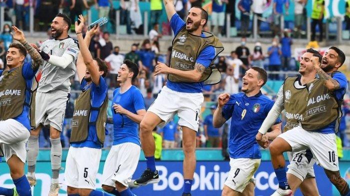 Keunggulan Italia Jelang Lawan Austria, Hadapi Pemenang Belgia vs Portugal Live RCTI di EURO 2021