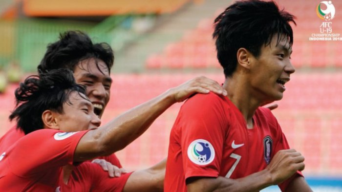 Hasil Akhir Timnas U-19 Korsel vs Tajikistan Piala AFC U-19 2018, Menang 1-0 Korsel Susul Qatar