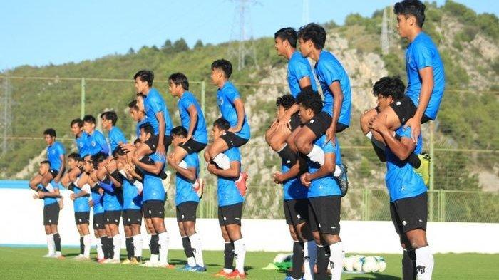 Jelang Kedatangan Shin Tae-yong,  Skuat Timnas U-19 Indonesia Ditinggal 4 Pemain