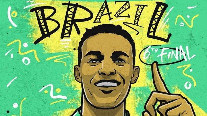 Live Indosiar! Link Streaming Brasil vs Peru Copa America 2021 Hari Ini, Neymar Main