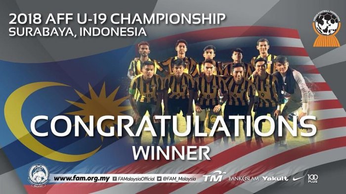 Hasil Malaysia vs Myanmar di Final Piala AFF U-19 2018 : Menang Dramatis 4-3. Malaysia Juara!
