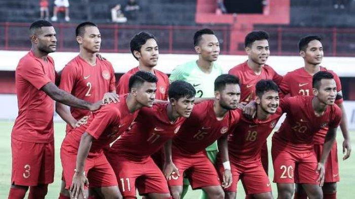 SESAAT LAGI Link RCTI! Live Streaming Timnas U-23 Indonesia vs China CFA Internasional Football 2019