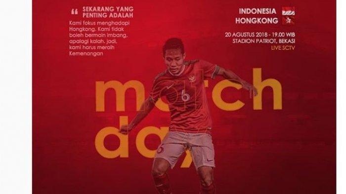 Hasil (Skor) Timnas U-23 Indonesia vs Hongkong : Skor Babak Pertama 0-1, Permainan 'Panas'