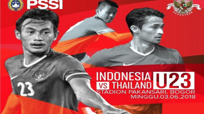 LIVE STREAMING Timnas U-23 Indonesia vs Thailand U-23 Malam Ini - Link Live Streaming RCTI