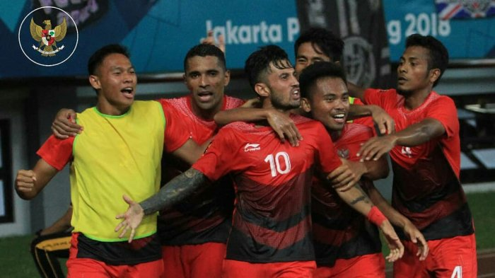 Jadwal Siaran Langsung (Live) SCTV Timnas U-23 Indonesia vs Uni Emirat Arab Asian Games 2018