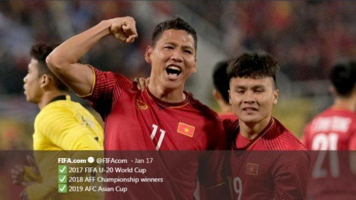 Hasil Piala Asia 2019 - Menang Adu Penalti, Vietnam Lolos ke Perempat Final, Thailand Disetop China