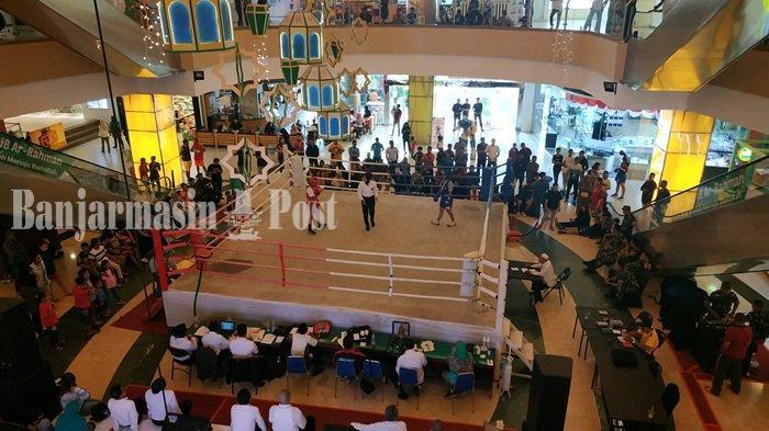 Wah, Ada Kejuaraan Tinju Kehurprov di Q Mall Cek Keseruannya, Besok Partai Final Mulai 15.00 Wita